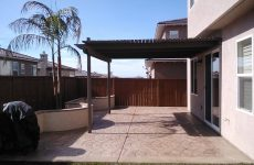 Stamped Patio Concrete Contractor Vista, Decorative Concrete Patio Contractors